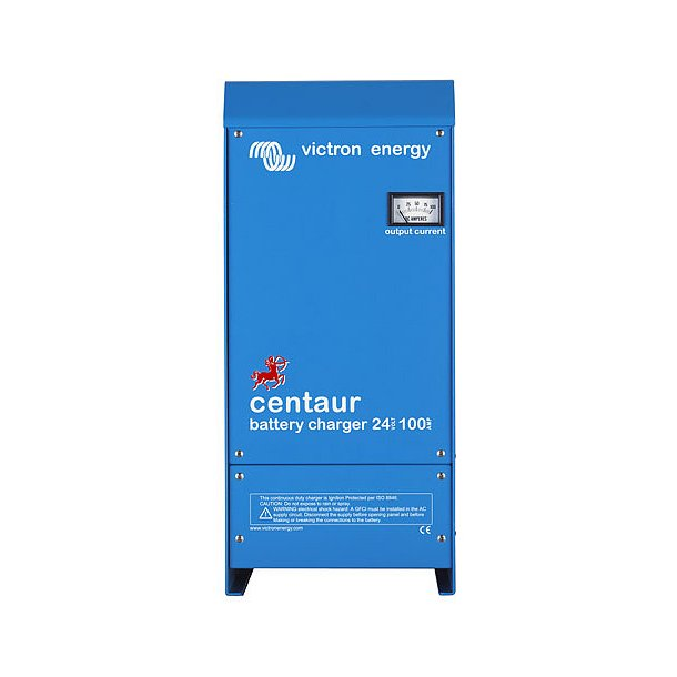 Victron Centaur Charger - 12/100, 12VDC/100A, 3 udgange