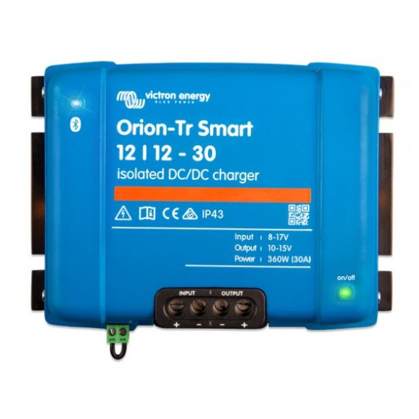 Orion-Tr Smart 24/12-20A (240W) Isolated DC-DC batterilader