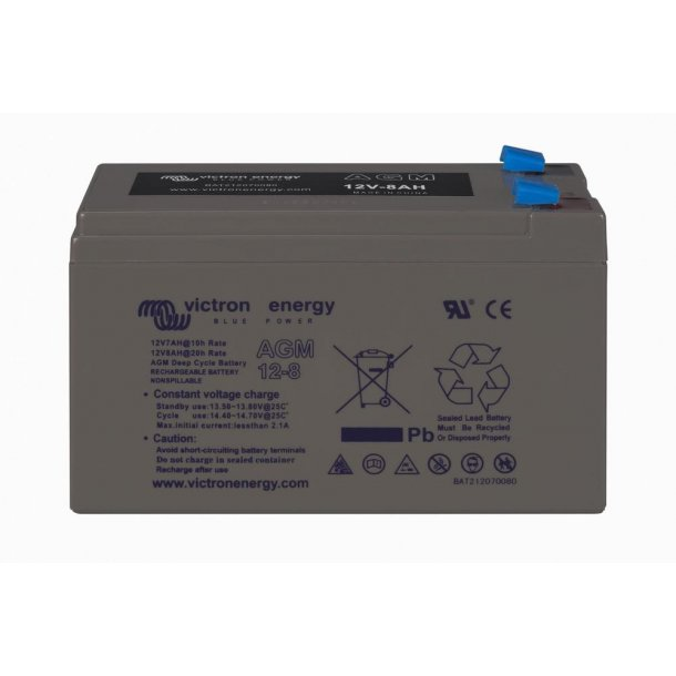 Victron Battery - 12V/8Ah AGM Deep Cycle Batt.