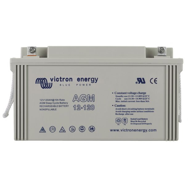 Victron Battery - 12V/110Ah AGM Deep Cycle Batt.