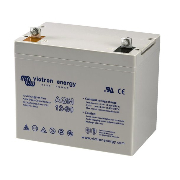 Victron Battery - 12V/38Ah AGM Deep Cycle Batt.