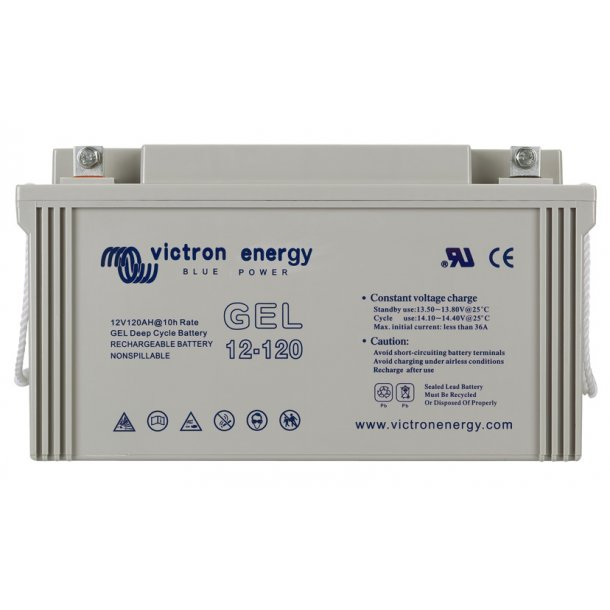 Victron Battery - 12V/110Ah Gel Deep Cycle Batt.