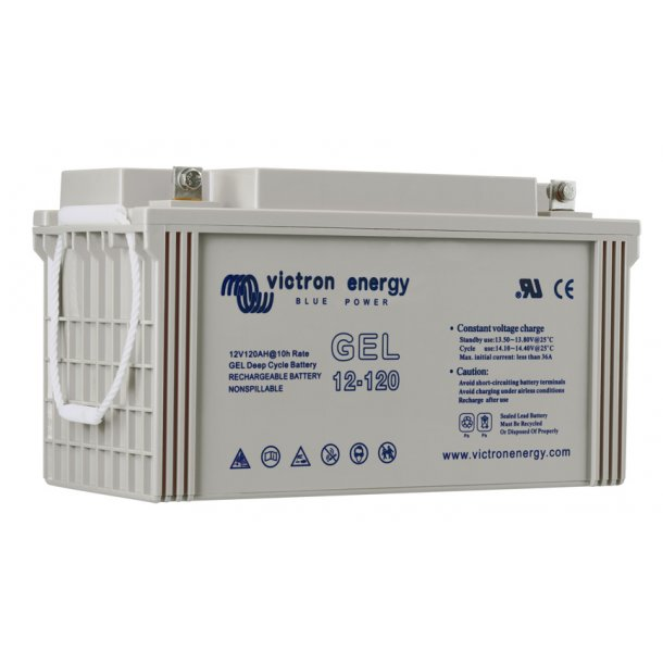 Victron Battery - 12V/130Ah Gel Deep Cycle Batt.