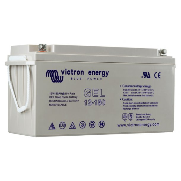 Victron Battery - 12V/165Ah Gel Deep Cycle Batt.