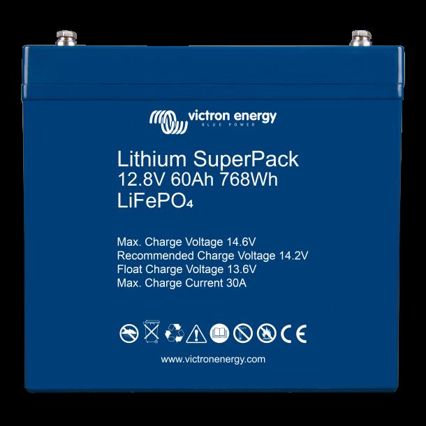 Lithium SuperPack 12,8V/60Ah (M6)