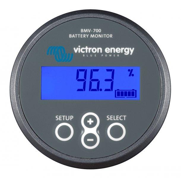 Precision Battery Monitor BMV 702 Black