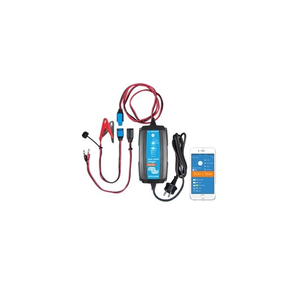 Blue Smart IP65 Charger 24/5 + DC connector