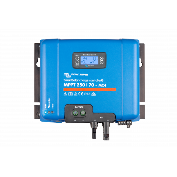SmartSolar MPPT 250/70-MC4 (12/24/36/48V-70A)