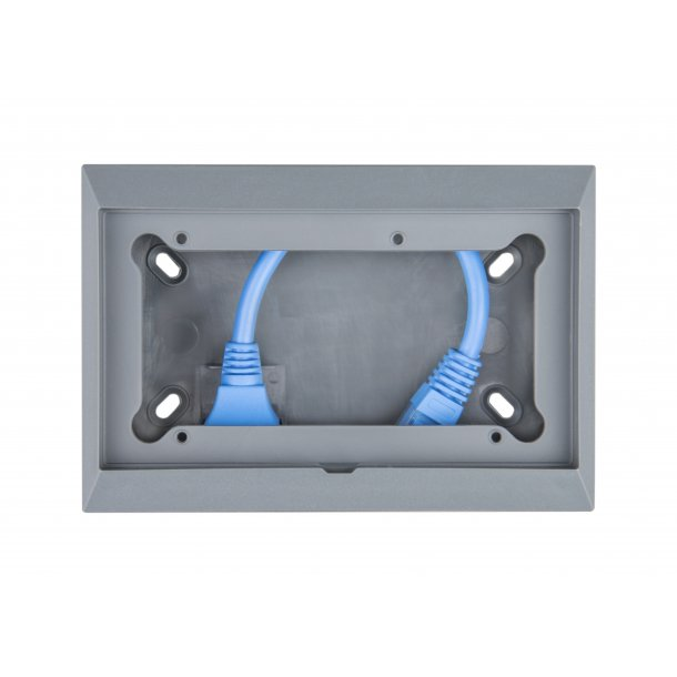 Wall mount enclosure for 65 x 120 mm GX-panels